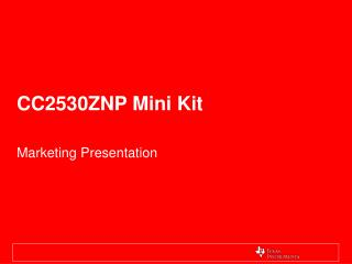 CC2530ZNP Mini Kit