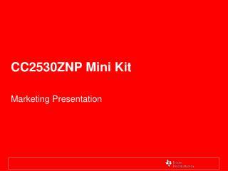 CC2530ZNP Mini Kit
