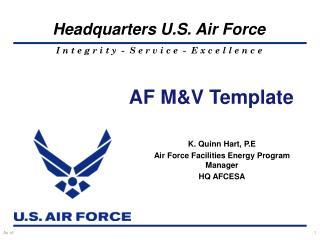 AF M&V Template