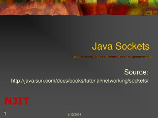 Java Sockets
