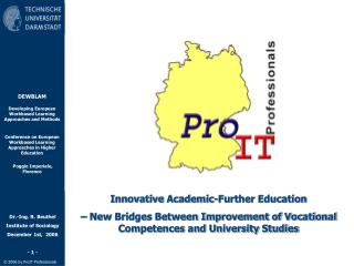 Innovative Academic-Further Education