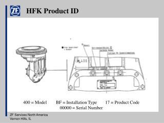 HFK Product ID