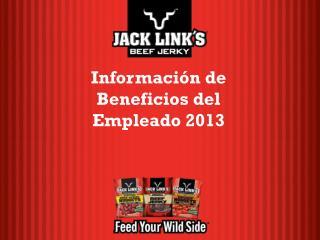 Informaci�n de Beneficios del Empleado 2013