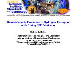 Thermodynamic Evaluation of Hydrogen Absorption in Nb During SRF Fabrication