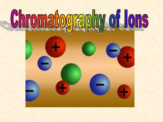 Chromatography of Ions