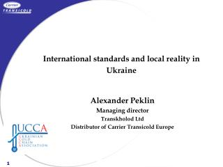 International standards and local reality in Ukraine
