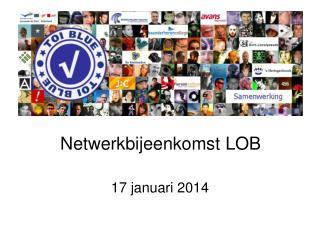 Netwerkbijeenkomst LOB
