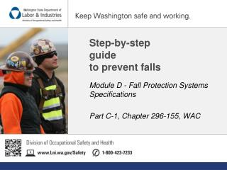 Step-by-step  guide  to prevent falls