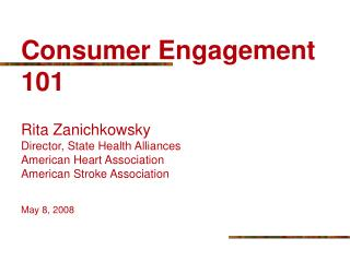 Consumer Engagement Defined