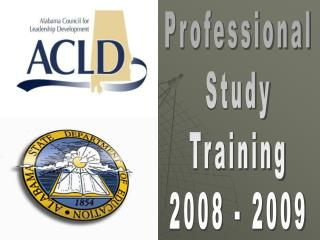Professional Study Training 2008 - 2009