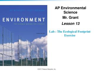 Lab : The Ecological Footprint Exercise