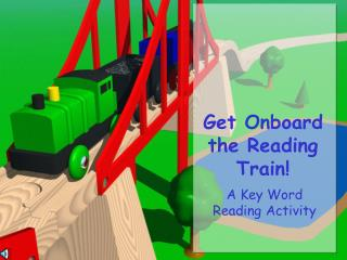 Get Onboard the Reading Train!