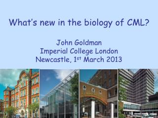 What's new in the biology of CML?