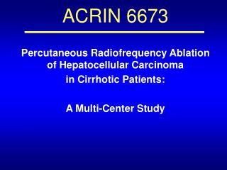 ACRIN 6673