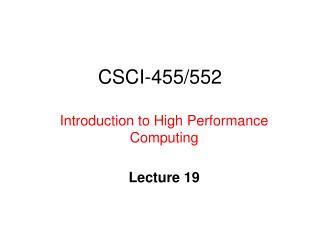 CSCI-455/552