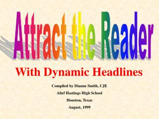 Attract the Reader