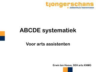 ABCDE systematiek
