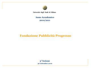 Fondazione Pubblicit� Progresso