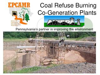 Coal Refuse Burning Co-Generation Plants