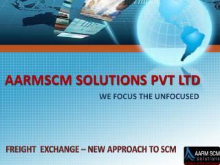 AARMSCM SOLUTIONS PVT LTD