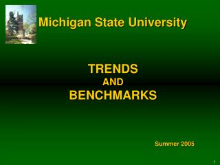 TRENDS AND BENCHMARKS
