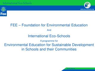 International Eco-Schools