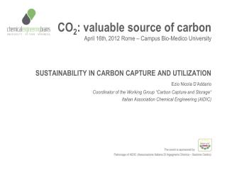 CO 2 : valuable source of carbon