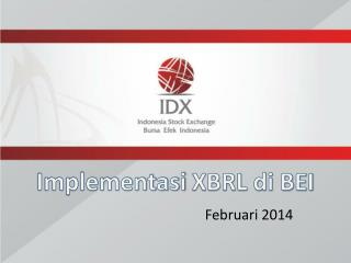 Implementasi  XBRL di BEI