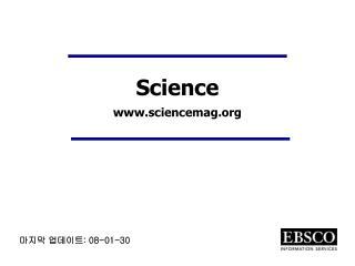 Science  sciencemag