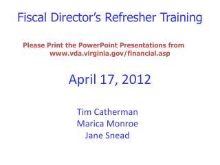April 17, 2012