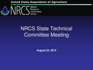 NRCS State Technical Committee Meeting
