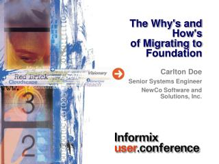 The Why's and How's  of Migrating to Foundation