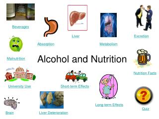 Alcohol and Nutrition