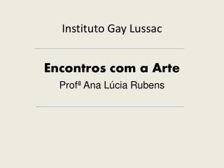 Instituto Gay  Lussac