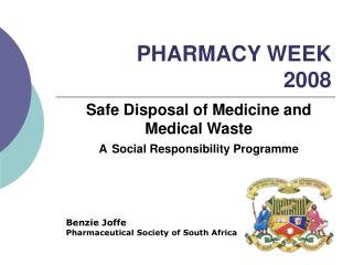 PHARMACY WEEK  2008