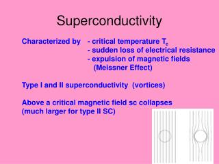 Superconductivity