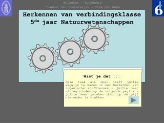 Herkennen van verbindingsklasse 5 de  jaar Natuurwetenschappen