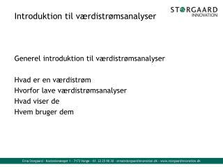 Introduktion til værdistrømsanalyser