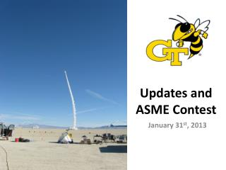 Updates and ASME Contest