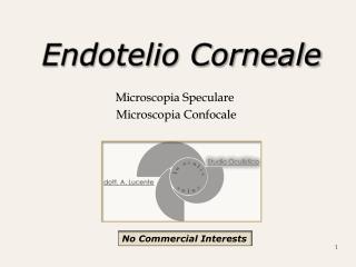 Endotelio Corneale