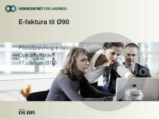 E-faktura til Ø90