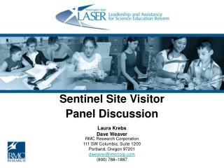 Sentinel Site Visitor Panel Discussion