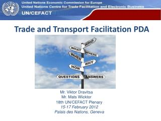 Trade and Transport Facilitation PDA