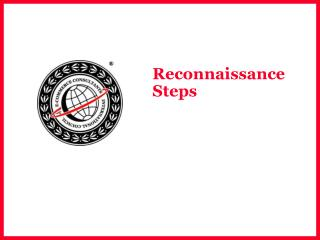 Reconnaissance Steps