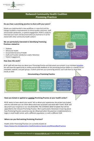 Evidence Based Practices Overview