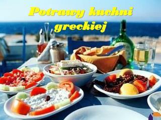 Potrawy kuchni greckiej