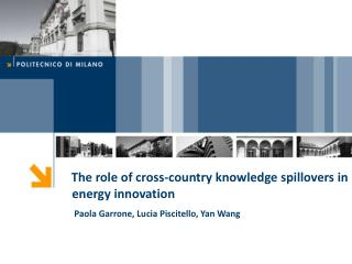 The role of cross-country knowledge spillovers in energy innovation