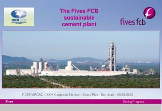 The Fives FCB sustainable cement plant