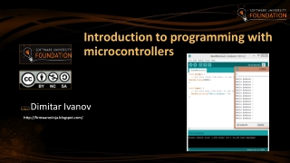Introduction to Microcontrollers: Arduino