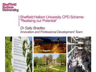Sheffield Hallam University CPD Scheme: